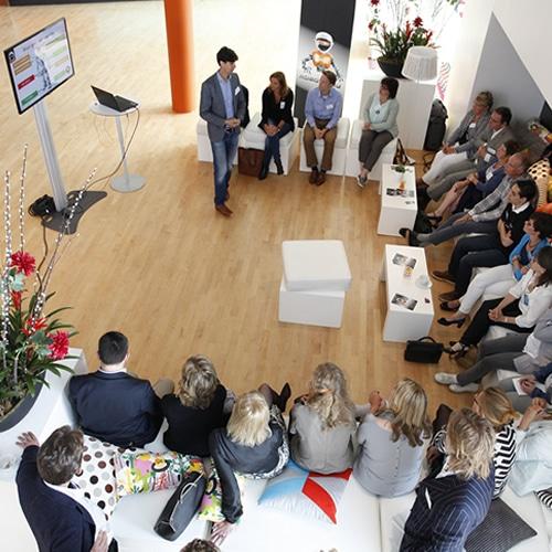 Robot workshop for an event