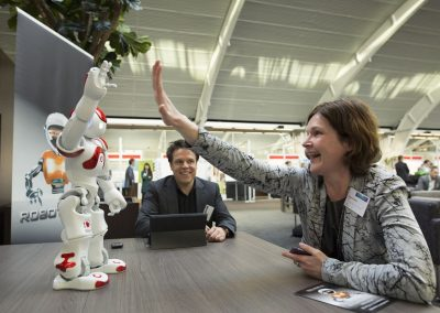 NAO meet and great, Robot Rent