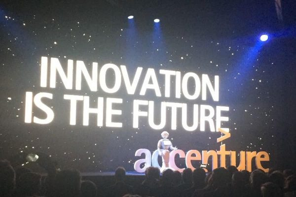 Pepper on innovation event Accenture