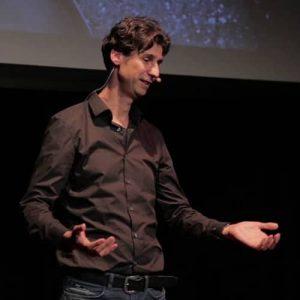 Keynote speaker Randall van Poelvoorde