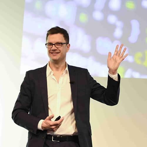 Keynote speaker Torsten Rehder