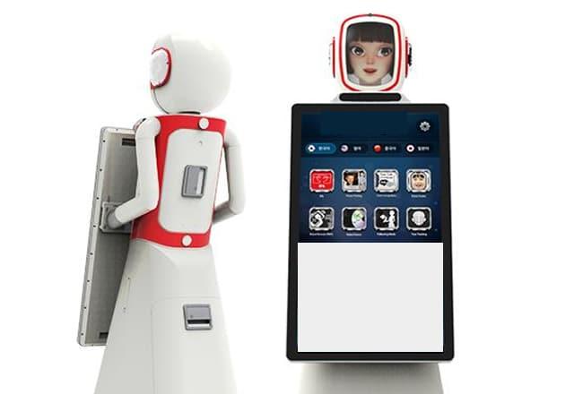 Rent humanoid robot