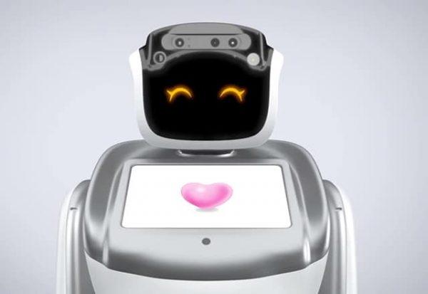 Rent Sanbot robot