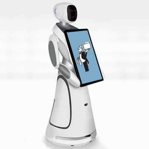 Hire Amy service robot