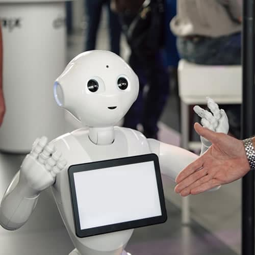 Hire Social Pepper Robot